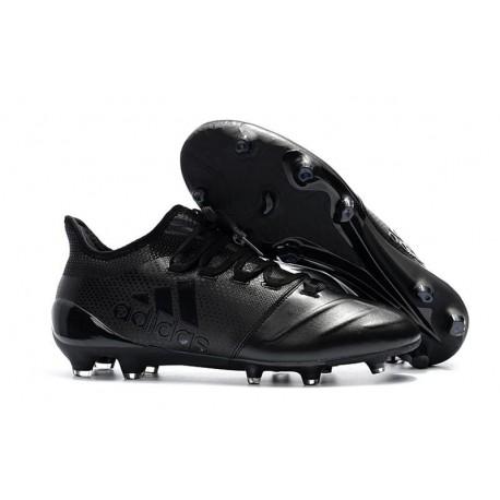 Baratas Botas de fútbol Adidas X 17.1 FG Todo Negro
