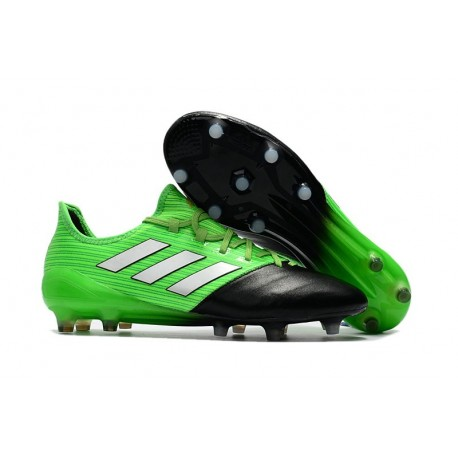 Nuevo Botas de fútbol adidas ACE 17.1 FG Verde Negro Plata