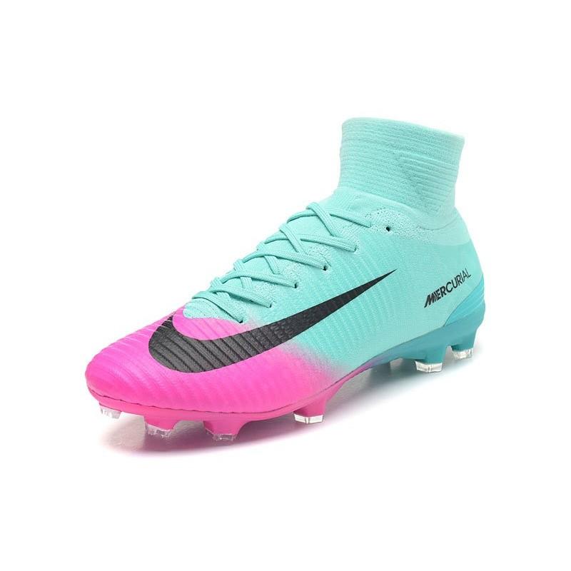 info for 7803e ff0d6 ... norway zapatillas de fútbol nike mercurial superfly v fg para hombre  rosa azul negro ampliar.