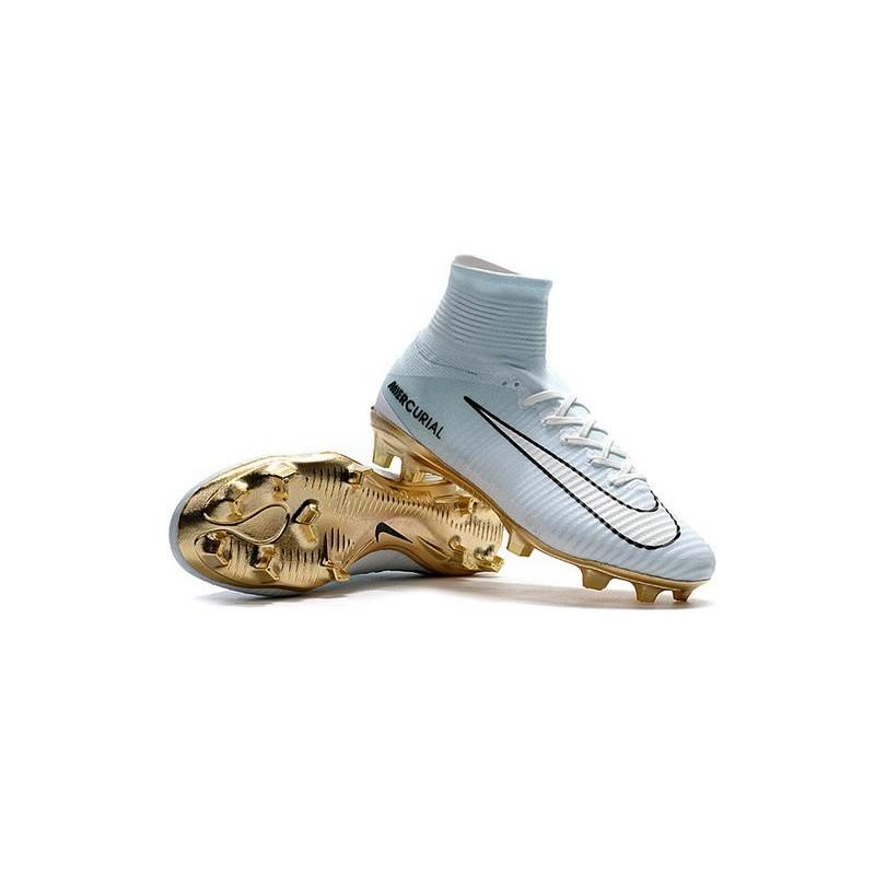 V Superfly Blanco Mercurial Cr7 Oro De Botas Fútbol Negro Fg Nike Xqw7WUnI 073f581506fb6