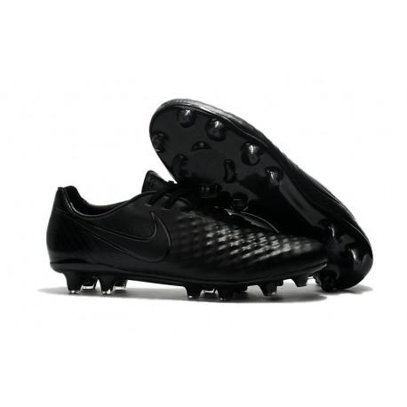 Baratas Botas de fútbol Nike Magista Opus II FG Todo Negro