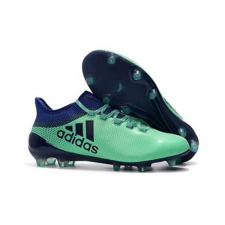 Botas de fútbol para Hombre Adidas X 17.1 FG Verde Tinta Verde