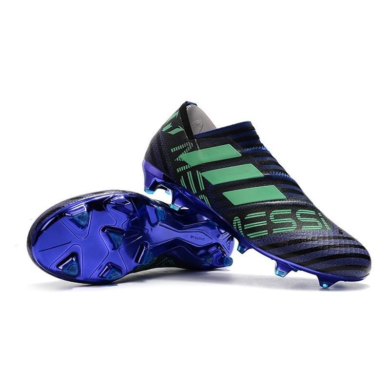 detailed pictures b7662 47d32 Baratas Botas de fútbol Adidas Nemeziz 17+ 360 Agility FG Tinta Verde Negro  Ampliar. Anterior. Siguiente