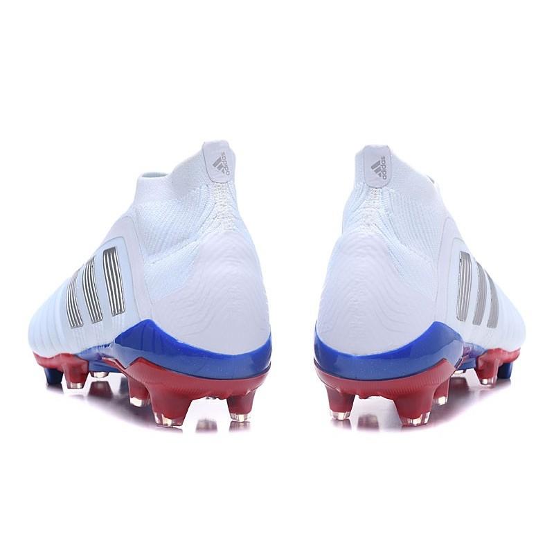 Botas Azul Nuevo De Fútbol Predator Adidas 18Fg Plateado Telstar Rojo 9IEH2D