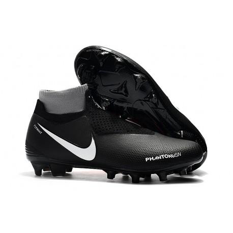 Botas de fútbol Nike Phantom VSN Elite DF FG Negro Rojo Blanco