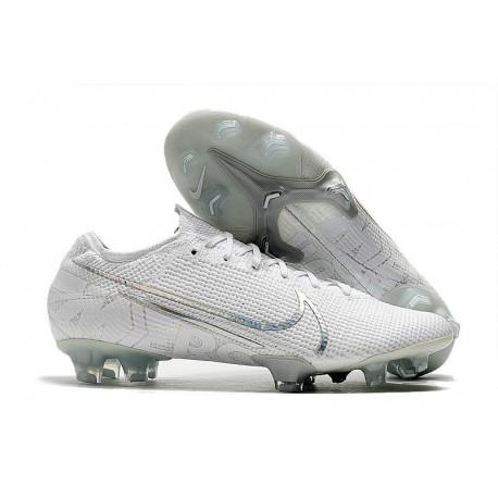 Botas de fútbol Nike Mercurial Vapor 13 Elite FG Blanco