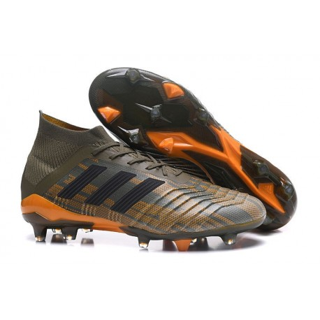 61cb96283152e Botas de fútbol Adidas Predator 18.1 FG Oliva Negro Naranja