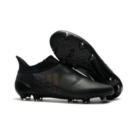 Zapatillas de fútbol Adidas X 17+ Purespeed FG Negro