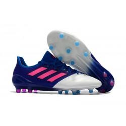 Nuevo Botas de fútbol adidas ACE 17.1 FG Azul Rosa Blanco