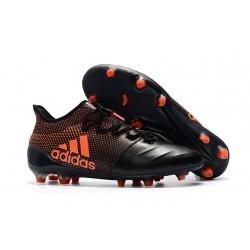 Nuevo Botas de fútbol Adidas X 17.1 FG Negro Naranja