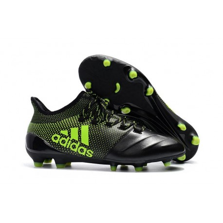 Nuevo Botas de fútbol Adidas X 17.1 FG Negro Verde