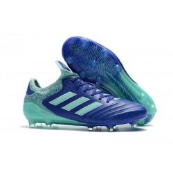 Botas de fútbol Adidas Copa 18.1 FG Para Hombre Azul