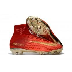 Nuevo Botas de fútbol Nike Mercurial Superfly 5 FG Rosso Oro