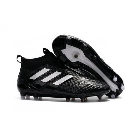 Nuevo Botas de fútbol adidas Ace 17+ Purecontrol FG Negro Blanco