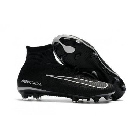 Zapatillas de fútbol Nike Mercurial Superfly 5 FG Negro Gris