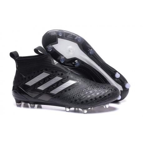 Nuevo Botas de fútbol adidas Ace 17+ Purecontrol FG Negro Plateado