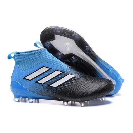 Nuevo Botas de fútbol adidas Ace 17+ Purecontrol FG Azul Nergro