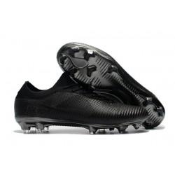 Botas de fútbol Nike Mercurial Vapor Flyknit Ultra FG Todo Negro