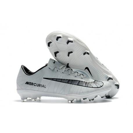 Zapatillas de fútbol para Hombre - Nike Mercurial Vapor XI FG CR7 Gris Negro