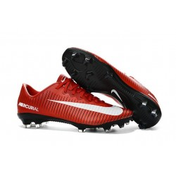 Nuevo Botas de fútbol Nike Mercurial Vapor 11 FG Rojo Blanco