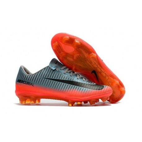 Nuevo Botas de fútbol Nike Mercurial Vapor 11 FG Gris Hematita Gris lobo