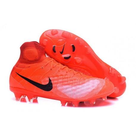 Zapatillas de fútbol Nike Magista Obra II FG Naranja Negro