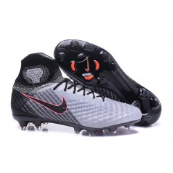 Nuevo Baratas Botas de fútbol Nike Magista Obra 2 FG Claro Azul Marino