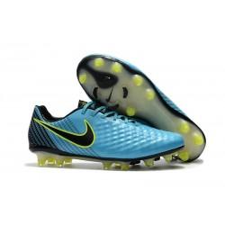 Zapatillas de fútbol Nike Magista Opus II FG Azul Voltio Negro