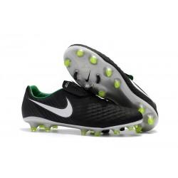 Nuevo Zapatillas de fútbol Nike Magista Opus 2 FG Negro Blanco Verde