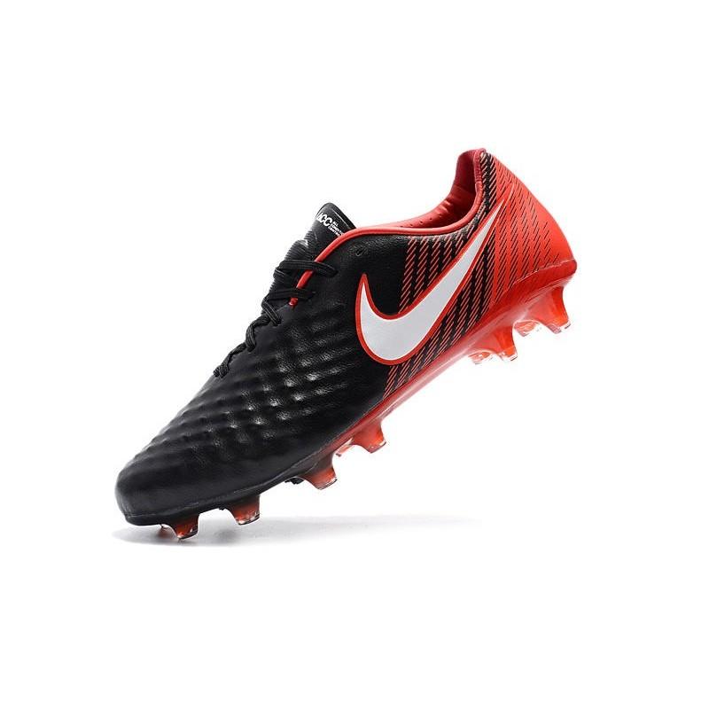 finest selection fafac e6346 ... cheap zapatillas de nike magista opus ii fg negro blanco rojo fútbol  nofirh1535 nike zapatos b95a7