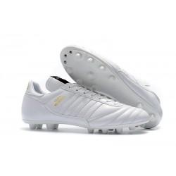 Botines Futbol Adidas Copa Mundial FG para Hombre Blanco Dorado