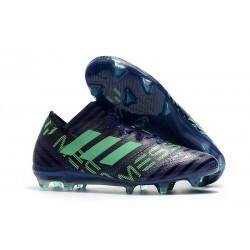 Botas de fútbol Adidas Nemeziz Messi 17.1 FG para Hombre Tinta Verde Negro