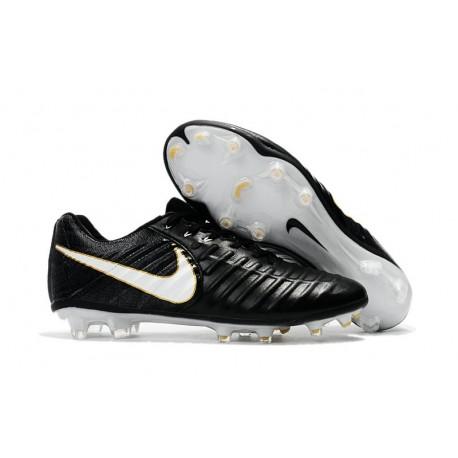 2cf5015235441 Botas de fútbol Nike Tiempo Legend VII Botas de Tacos Oro Blanco Negro