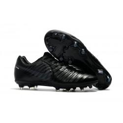 Botas de fútbol Nike Tiempo Legend VII Botas de Tacos Negro