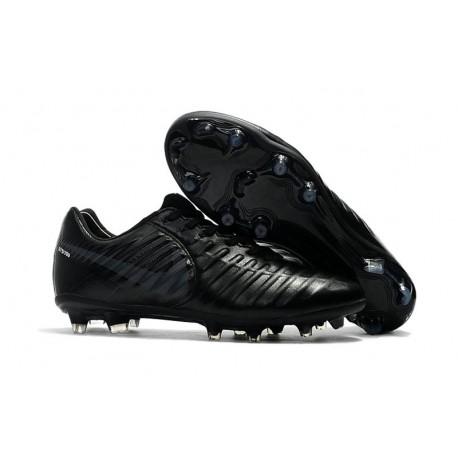 5325f30ff84e2 Botas de fútbol Nike Tiempo Legend VII Botas de Tacos Negro