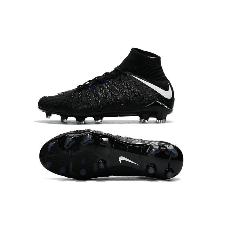 watch de0e9 ce7cb Zapatos de fútbol Nike Hypervenom Phantom III DF FG para Hombre Negro Blanco  Ampliar. Anterior. Siguiente