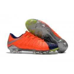 Botas de fútbol Baratas Nike HyperVenom Phantom III FG Azul Royal Cromo Carmesí total