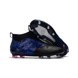 Tacos de futbol adidas Ace 17+ Purecontrol FG Continuar Núcleo Negro Azul