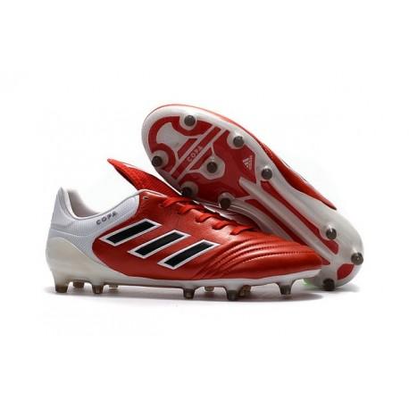 Botas de fútbol Adidas Copa 17.1 FG para Hombre Rojo Negro Blanco