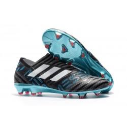 Adidas Nemeziz 17+ 360 Agility FG para Hombre Gris Blanco Negro