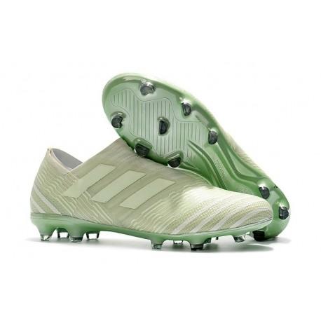 Zapatos de fútbol Adidas Nemeziz 17+ 360 Agility FG Verde