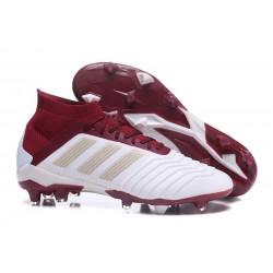 Botas de fútbol Adidas Predator 18.1 FG Blanco Rojo