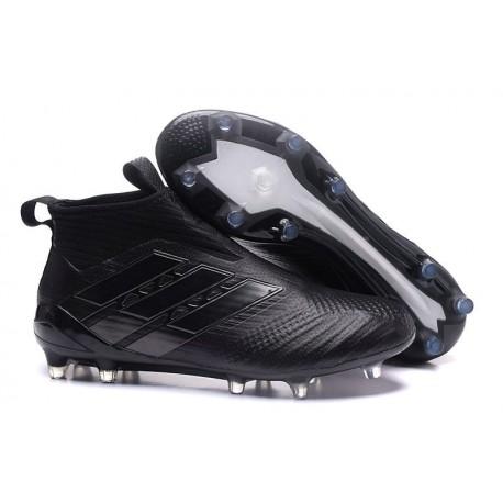 Baratas Botas de fútbol adidas Ace 17+ Purecontrol FG Todo Negro