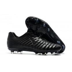 Zapatillas de fútbol Nike Tiempo Legend VII FG Todo Negro