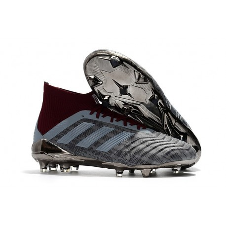 Botas de fútbol Adidas Paul Pogba Predator 18.1 FG Para Hombre Hierro Metálico