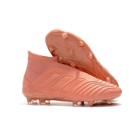 Nuevo Zapatillas de fútbol Adidas PP Predator 18+ FG Rosa