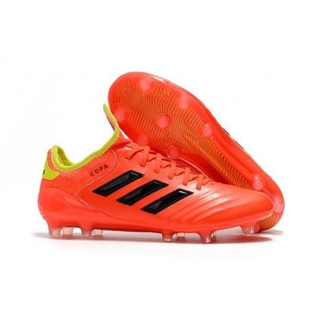 Botas de fútbol Adidas Copa 18.1 FG Para Hombre Rojo Amarillo