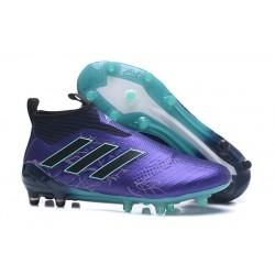 Zapatos de fútbol adidas Ace 17+ Purecontrol FG Negro Azul
