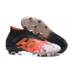Botas de fútbol Adidas Predator Telstar 18.1 FG Para Hombre Negro Cobre Gris