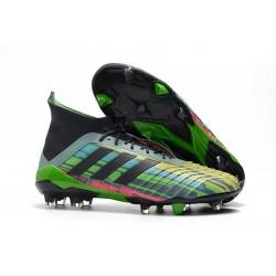 Bota Adidas Predator 18.1 FG 2018 Mezclar Colores verde Negro Amarillo